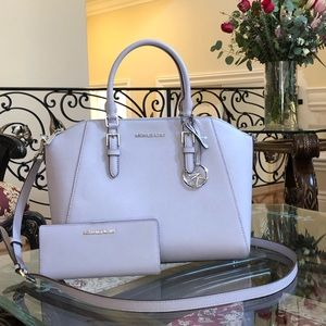 2pcs NWT Michael Kors large Ciara handbag&wallet